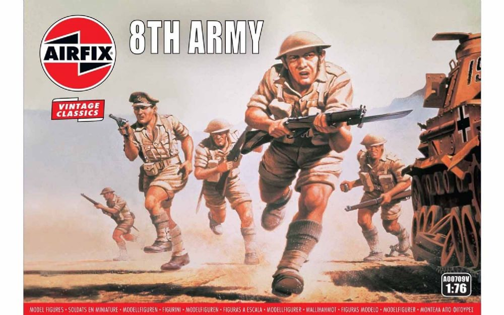 AIRFIX A00709V BROTISH WWII 8TH ARMY